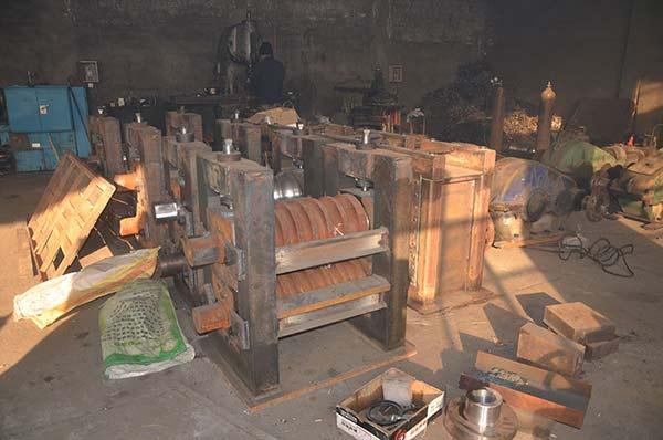 热轧机生产车间