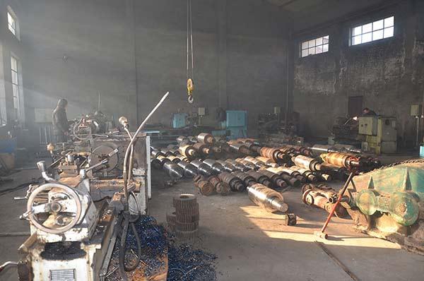 轧钢机械设备厂区