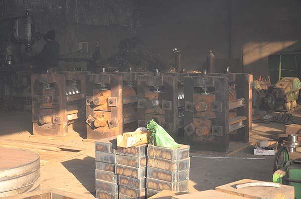 轧钢机械设备加工车间