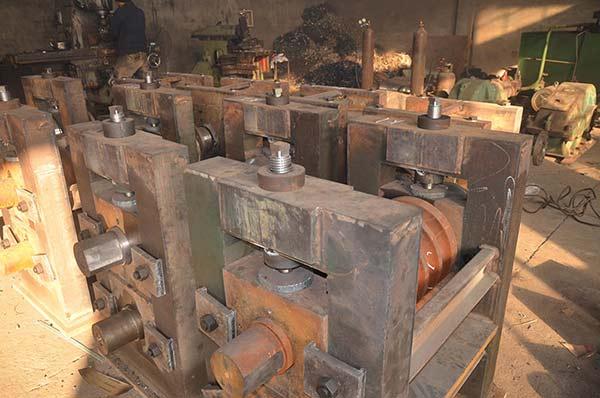 轧钢机械设备车间