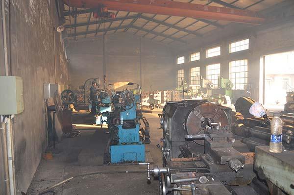 轧钢设备生产车间